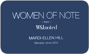 Mardi-Ellen Hill – Wall Street Journal Woman of Note